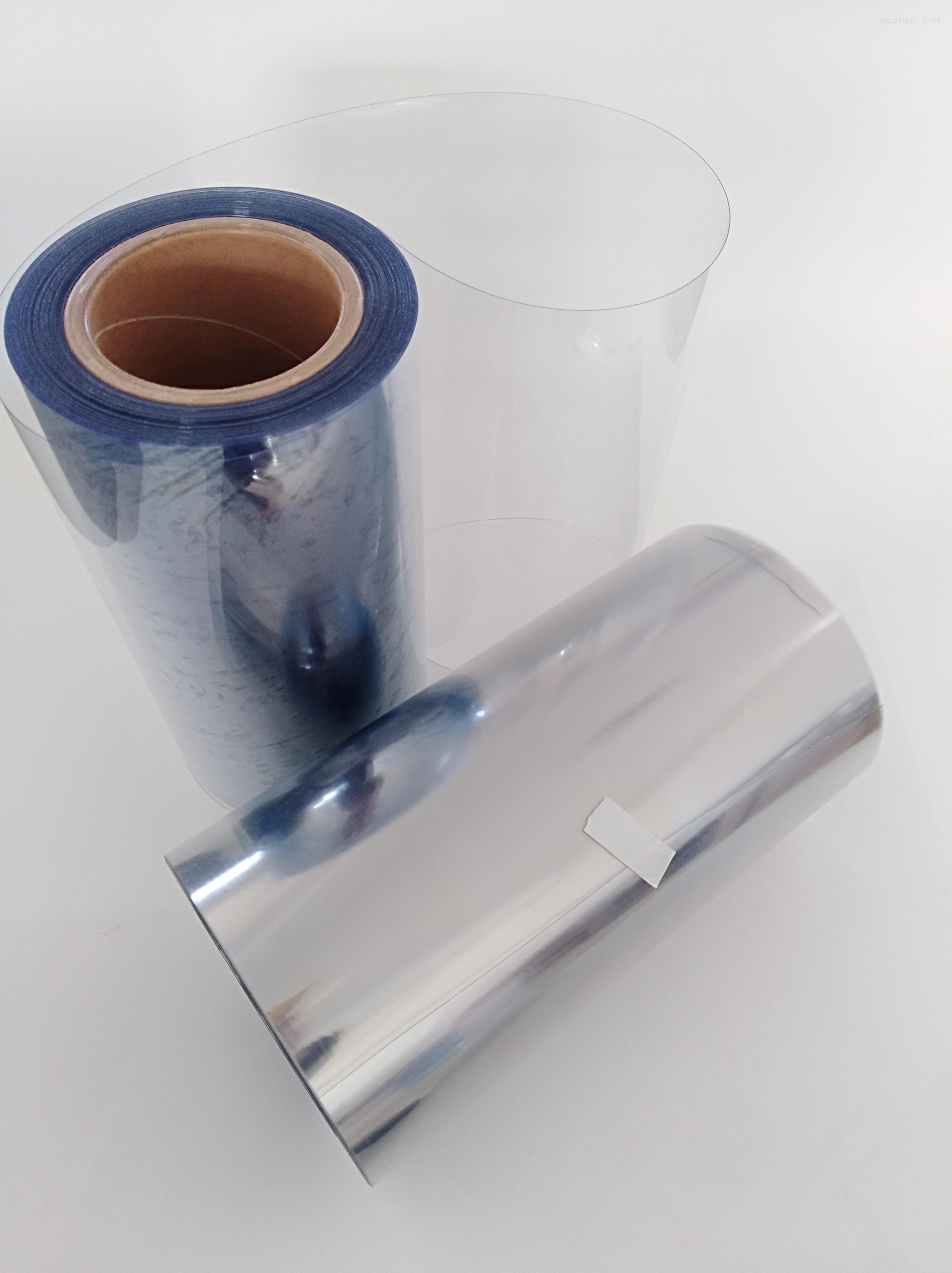 定制透明PVC泡罩用卷料