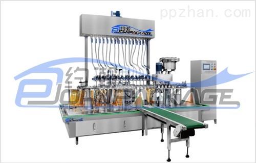 YDGP-12-4 壶嘴自立袋包装机