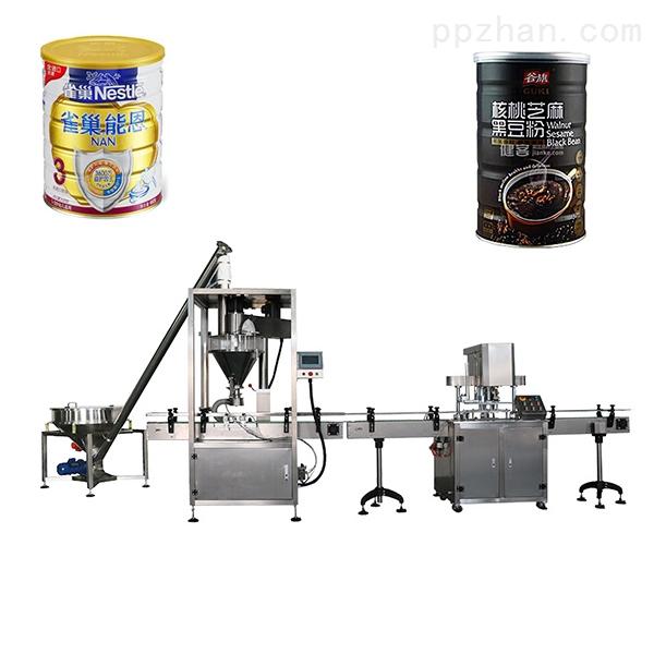奶粉灌装机_全自动蛋白粉/豆粉/粉末灌装机械设备
