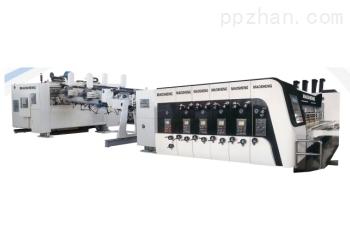 纸箱高速印刷机联动线