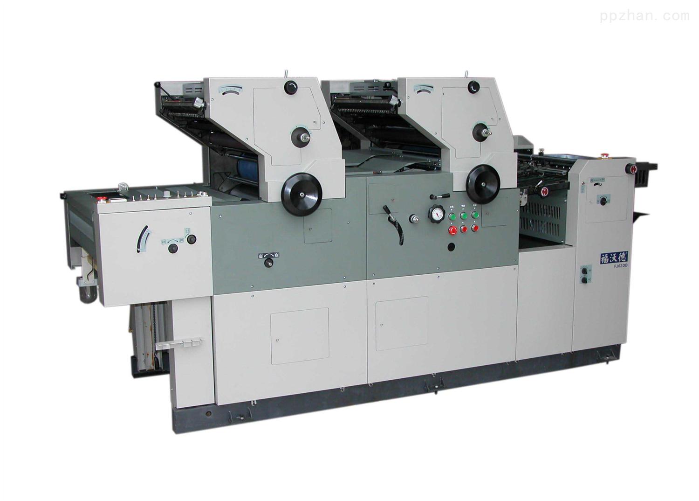 FJ62DD机组式双面、双色胶印机