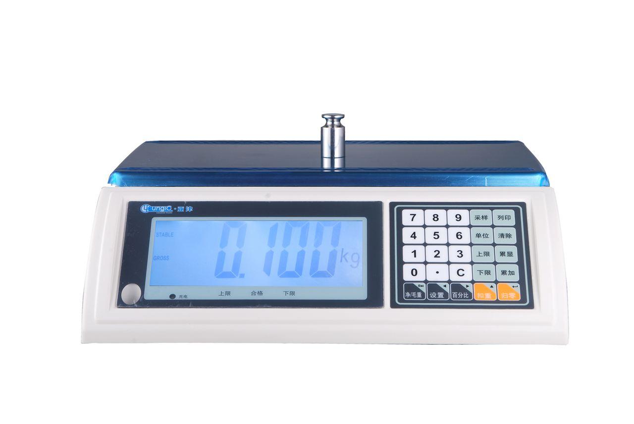 【亚津】上海电子检重秤 商用电子秤 大型电子桌秤