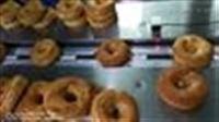 甜甜圈食品枕式包装机