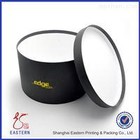 黑色圆筒礼盒包装盒